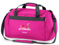 Personalised I LOVE GYMNASTICS Bag Mini Holdall  BG200